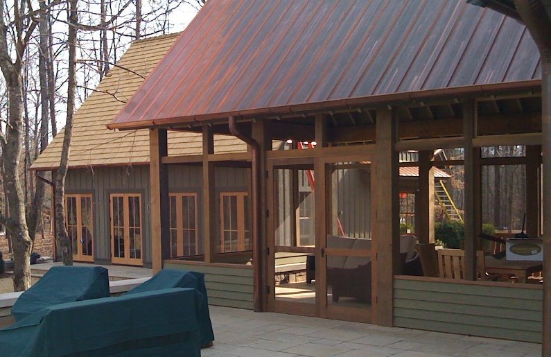 Krantz recovered woods rough sawn beams for Cypress log home prices