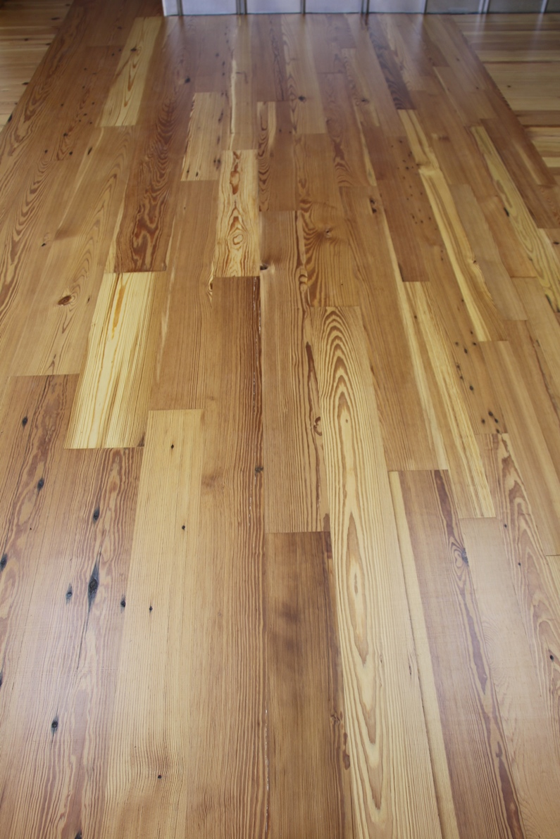 Krantz Recovered Woods Select Reclaimed Longleaf Pine T