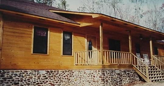 on cottage is family pin rusticseries home lap smartside single cottages siding color beautiful lp rock river