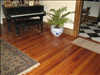 Select & Vertical Reclaimed Longleaf Pine 1x4 in formal entryway.
