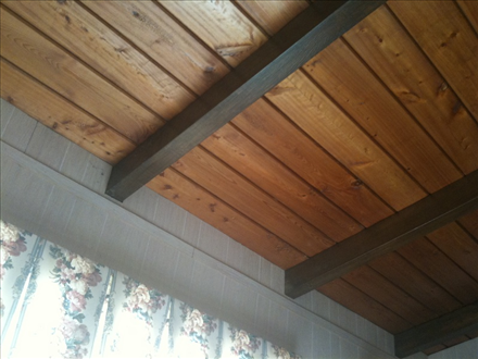 Jimmy 39 s cypress customer photos for T g wall panelling in bathroom
