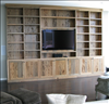 Pecky Sinker Cypress makes a beautiful entertainment center.