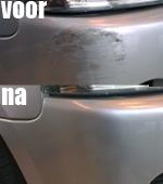 Krassen verwijderen parkeerschade