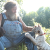 Bob, his beard, and his tiger cub.