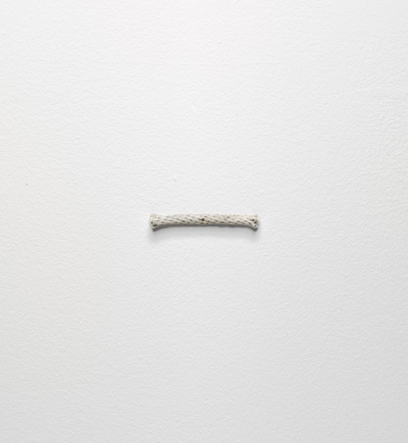 Richard Tuttle's 3rd Rope Piece, 1974, from the Vogel collection