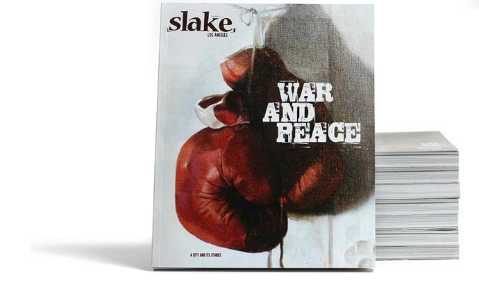 The most recent issue of Slake magazine.