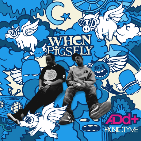 "Album art from A.Dd+'s 2011 release ""When Pigs Fly."""