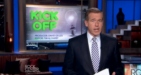 NBC's Brian Williams reports on Kickstarter.