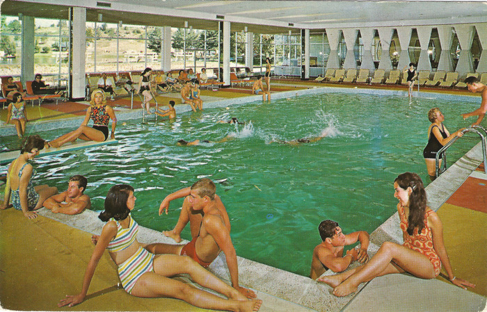 Kutsher's Indoor Pool Postcard