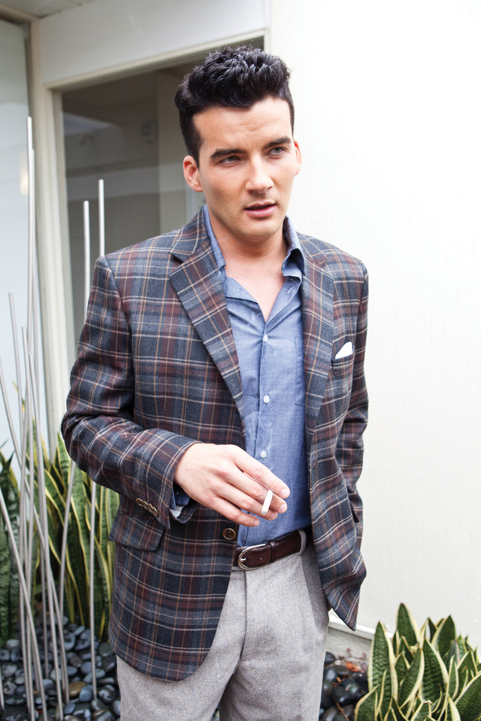 The Dean Plaid Sportcoat from our Fall 2012 Collection