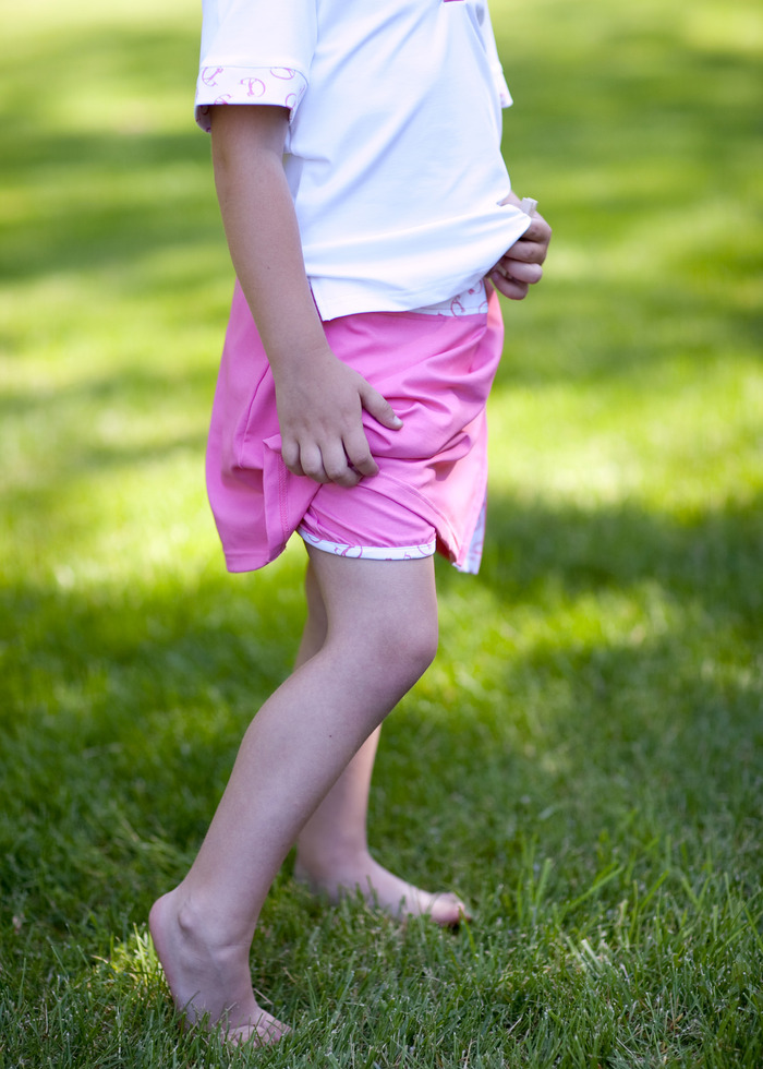 Our Junior Collection- GolfHER girl *skort short detail