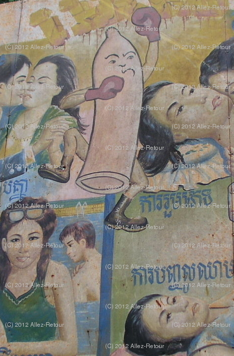 Close-up of the Khmer Boxing Condom