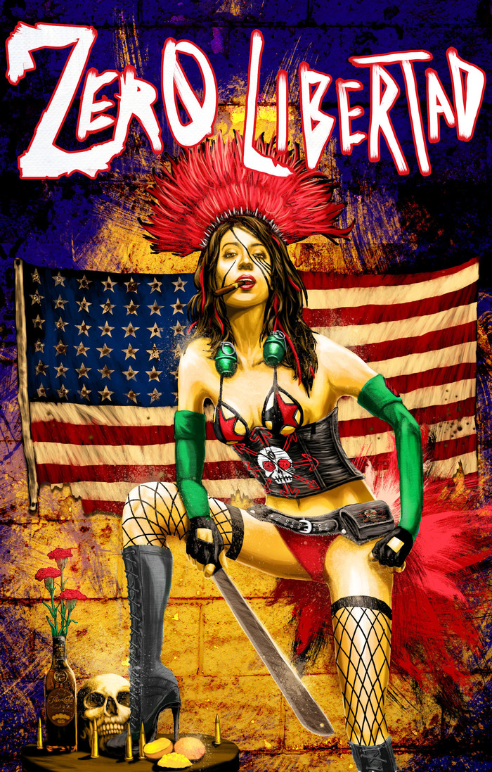 Zero Libertad Issue One Cover