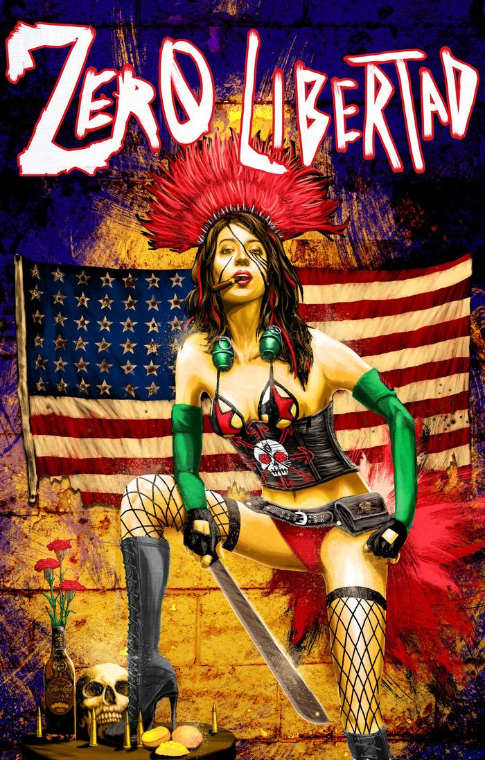 Zero Libertad Issue One Cover