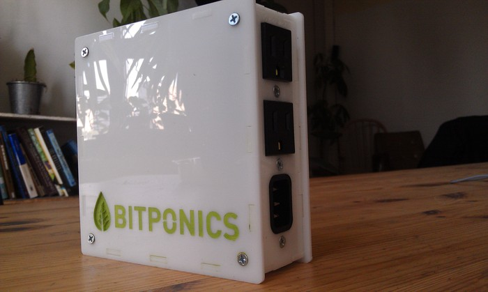 A prototype of the Bitponics device. Your reward for pledges $250 and up!