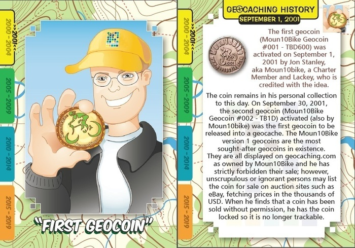 First Geocoin