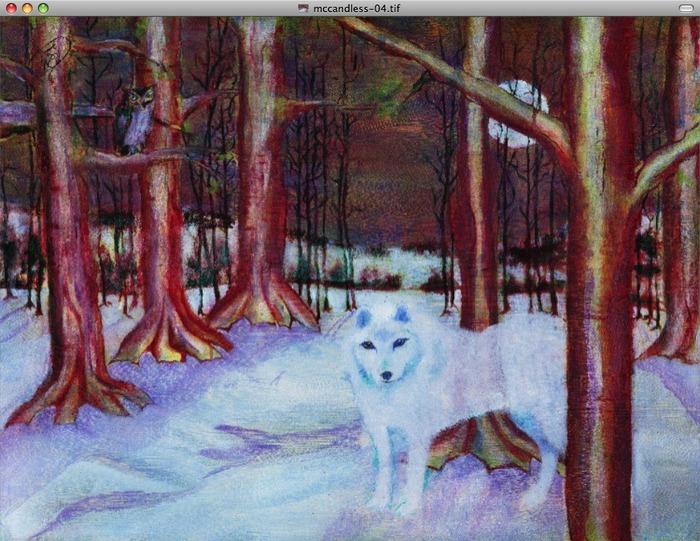 Ardaak the Wolf Faun