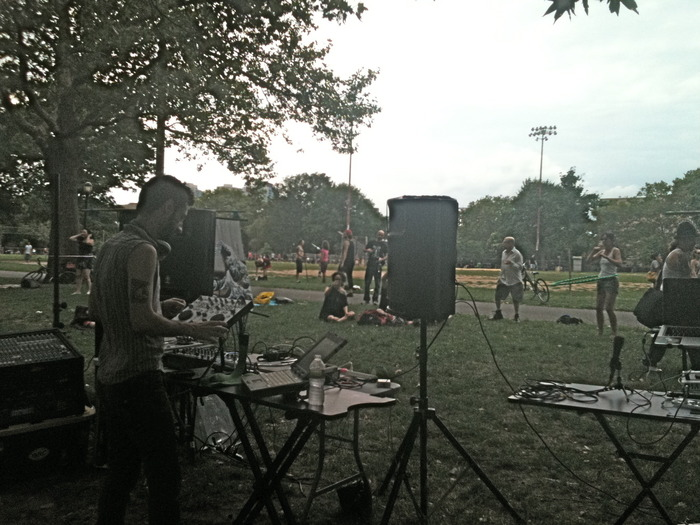 FreeBASSin' at McCarren Park in Brooklyn NY, sponsered by Tsunami Bass Experience