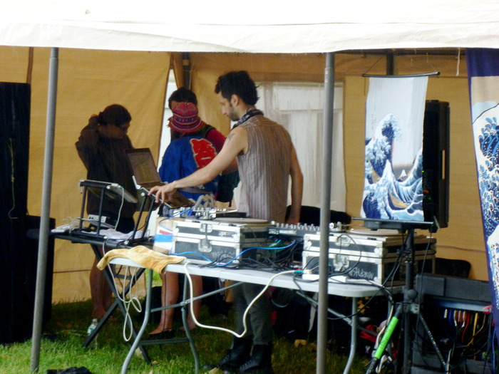 Ethnotech DJ Producer JORO BORO dropping the bass at the TBE ~WaVe~ during Figment NYC 2011