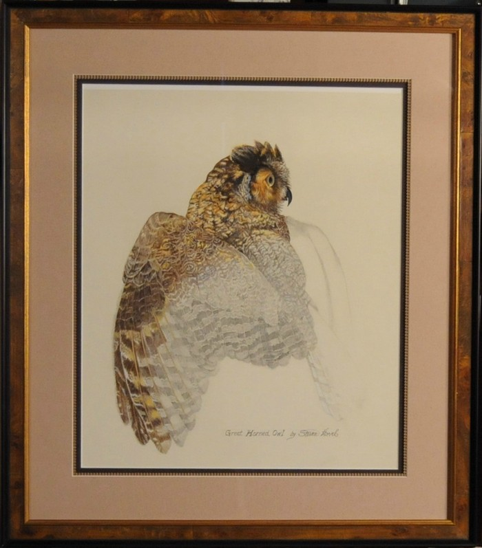 Reward # 9:  Horned Owl