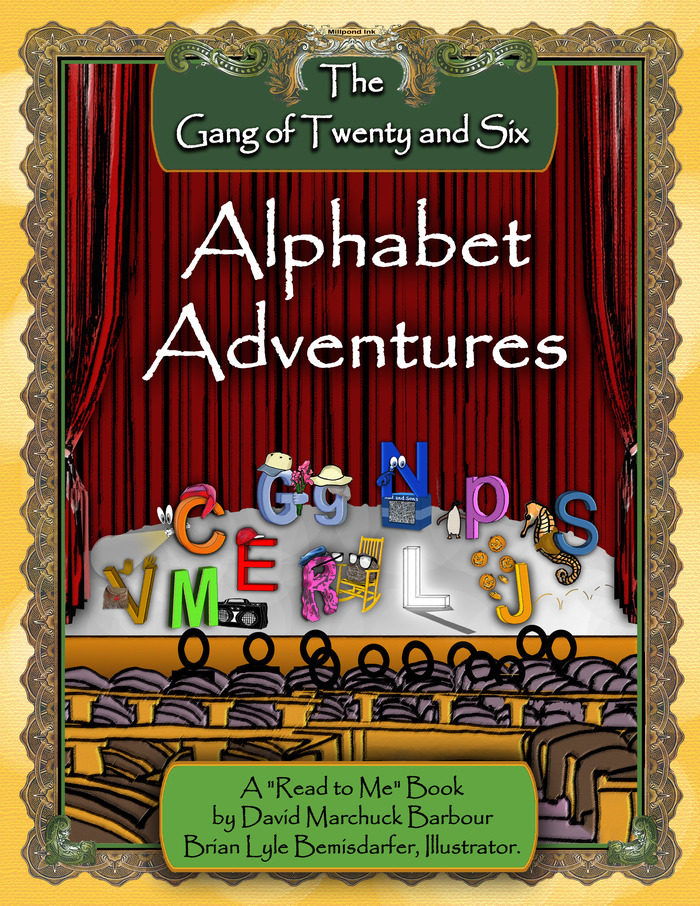 The Gang of Twenty and Six, Alphabet Adventures Cover