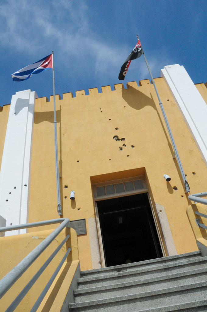 The Cuartel Moncada is where the revolution began as Fidel Castro and company launched their first failed attempt to overthrow Batista on July 26th 1953.