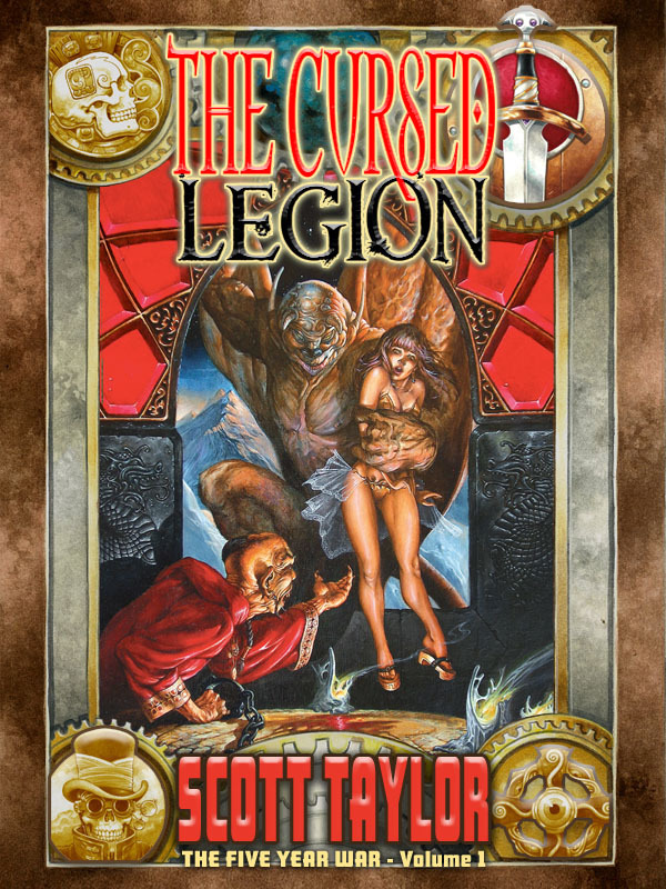 Jeff brought old school to a new level with The Five Year War, Volume 1, The Cursed Legion!