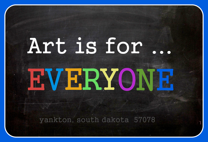 "You can get ""Art is for ... EVERYONE"" temporary tattoos!"