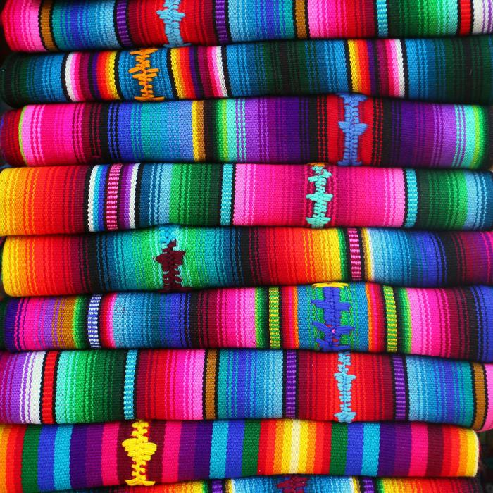 Some hand-made Guatemalan textiles which we will hand-select for you!