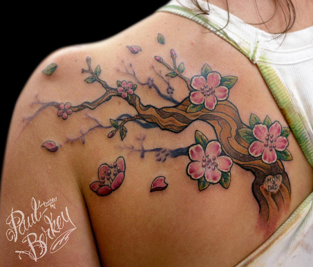 Cherry Blossom Tattoos!