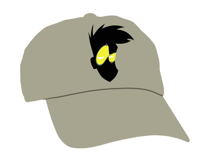 We think our hat will look a bit like this. But when you are wearing it, it will look a lot better! Ka-Ching!