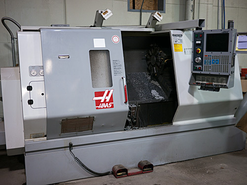 Our Haas SL-30 CNC Lathe