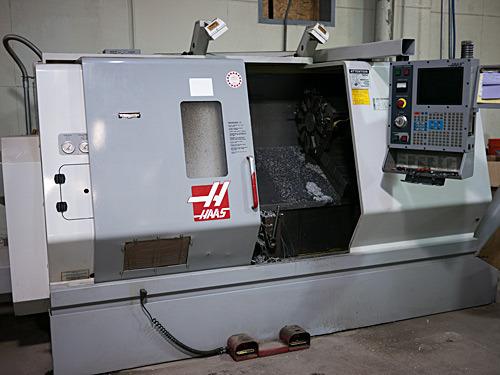 Our Haas SL-30 CNC Lathe