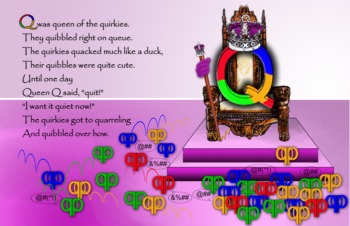 Letter Q - Having a Quirkie Day?