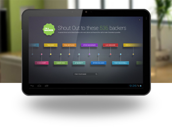 Chameleon: A Better Home Screen for your Android Tablet by ...