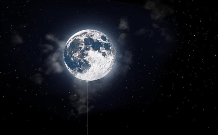Full lune at night