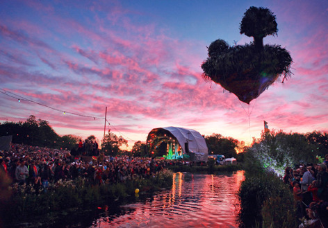 Is Land at Secret Garden Party