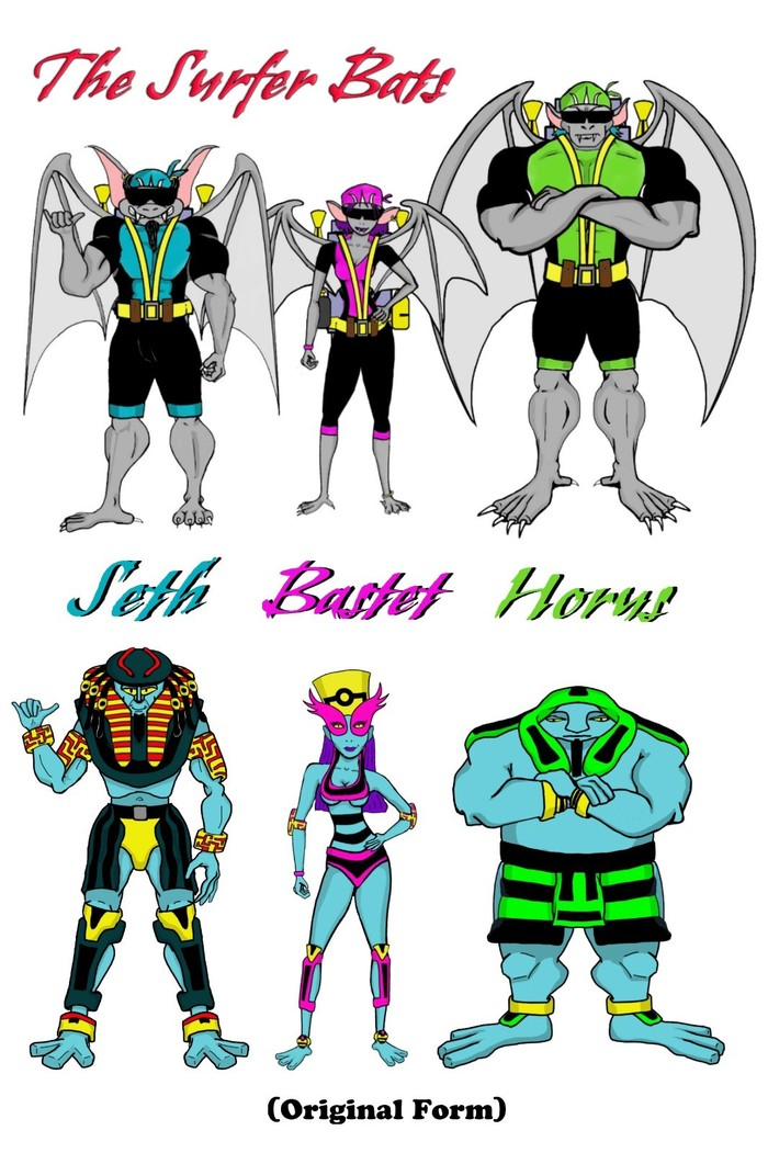 The Surfer Bats