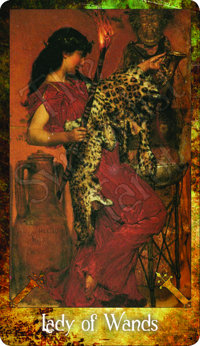 Lady of Wands ~ Lawrence Alma-Tadema
