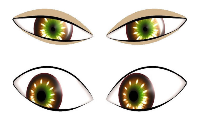 Be part of the silver backers (or higher) and get early access to the cosmetic eye editor