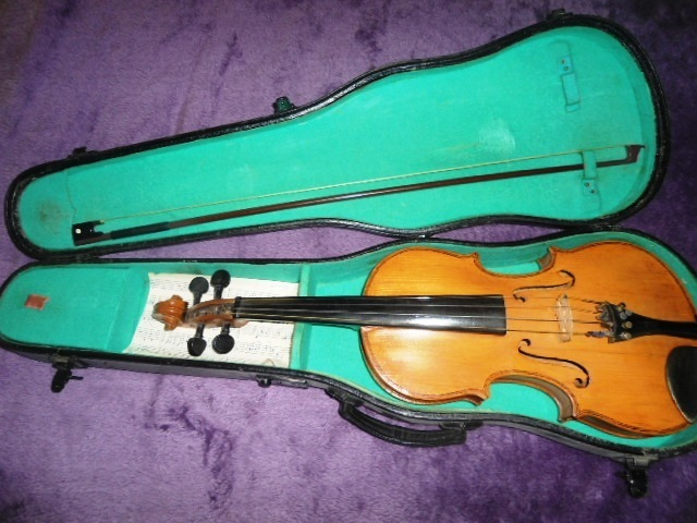 My late grandfather's violin, I fell in love with the era because of him