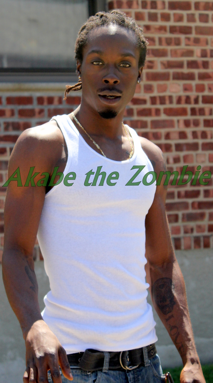Akabe the Zombie Undead Hip Hop musician!