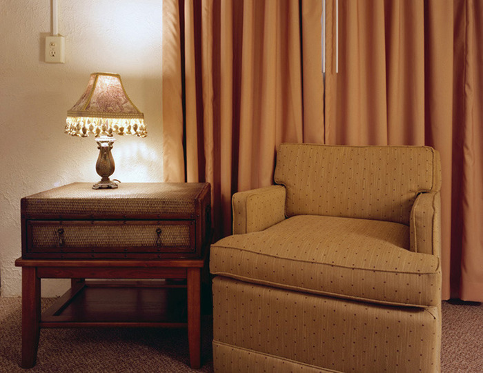 Chair and Lamp, Room 1153