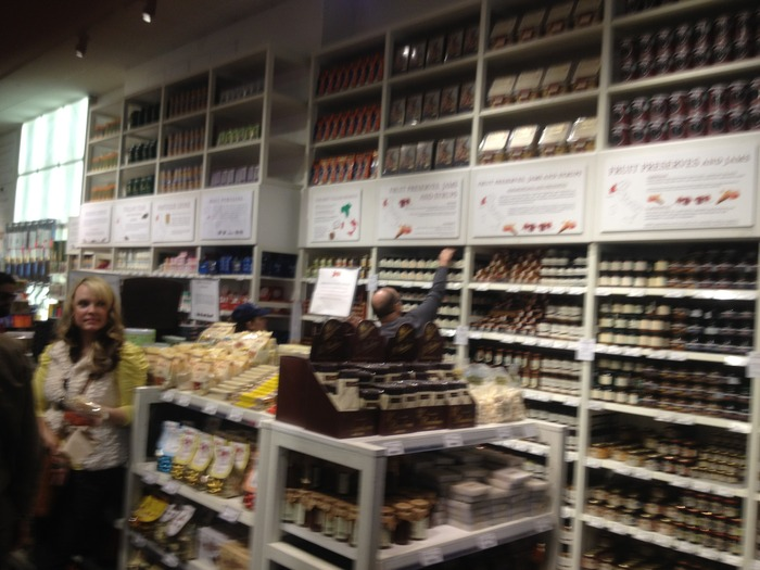 recent 'research' excursion to Mario Batali's Eataly