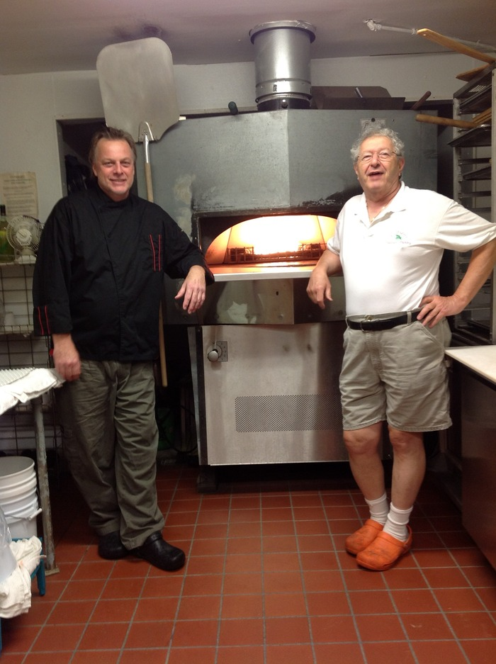 Partners Chef Paul Kropp and Italian Pantry owner and cheesemaker, Al Scheps