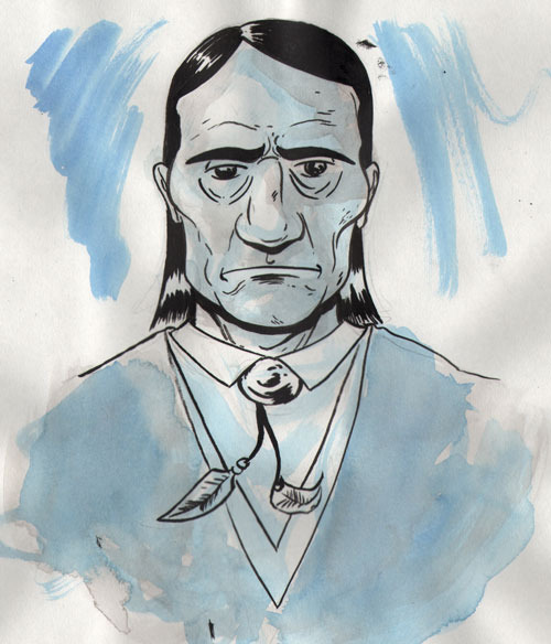 Adahy (Secretary of Interior): A Cherokee man against the Dawes Act and the forced removal of Native American tribes.