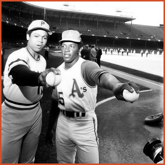 Dock and Vida Blue, 1971 All-Star Game