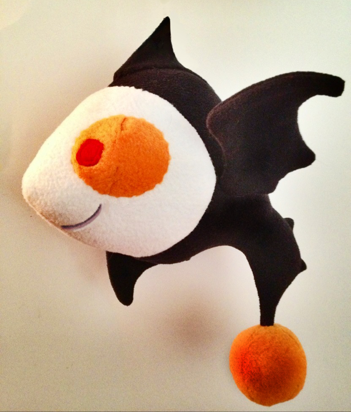 Fishbat Plush Comes with an $85 Pledge!