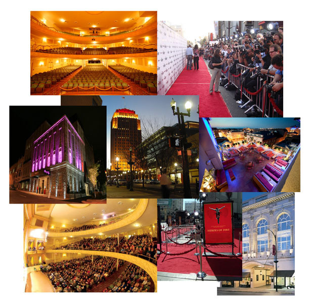Movie World Premiere Red-Carpet Event in October 2012 (1,200-seat Symphony Hall Theater in Allentown, PA)