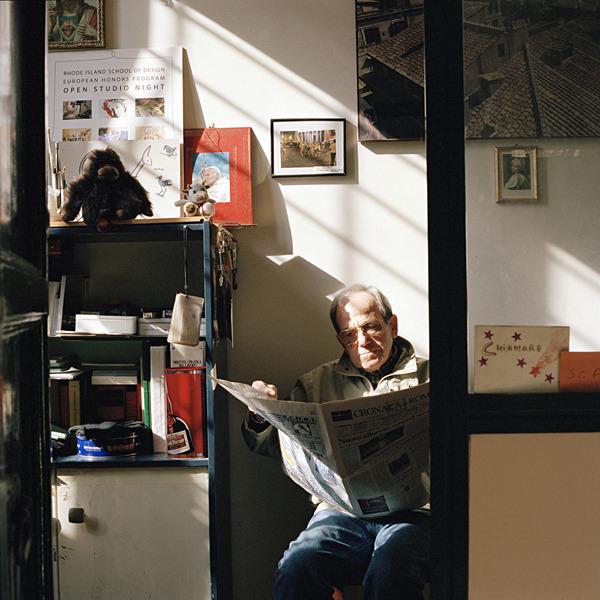 At The Door. Midge Wattles. 2012.